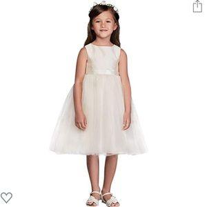 David's Bridal- flower girl dress